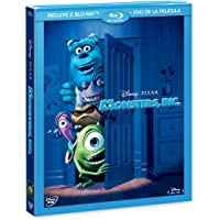 Monsters Inc (BR + DVD Combo Pack) [Blu-ray]