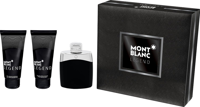 Mont Blanc - Estuche de regalo eau de toilette legend montblanc: Amazon.es: Belleza