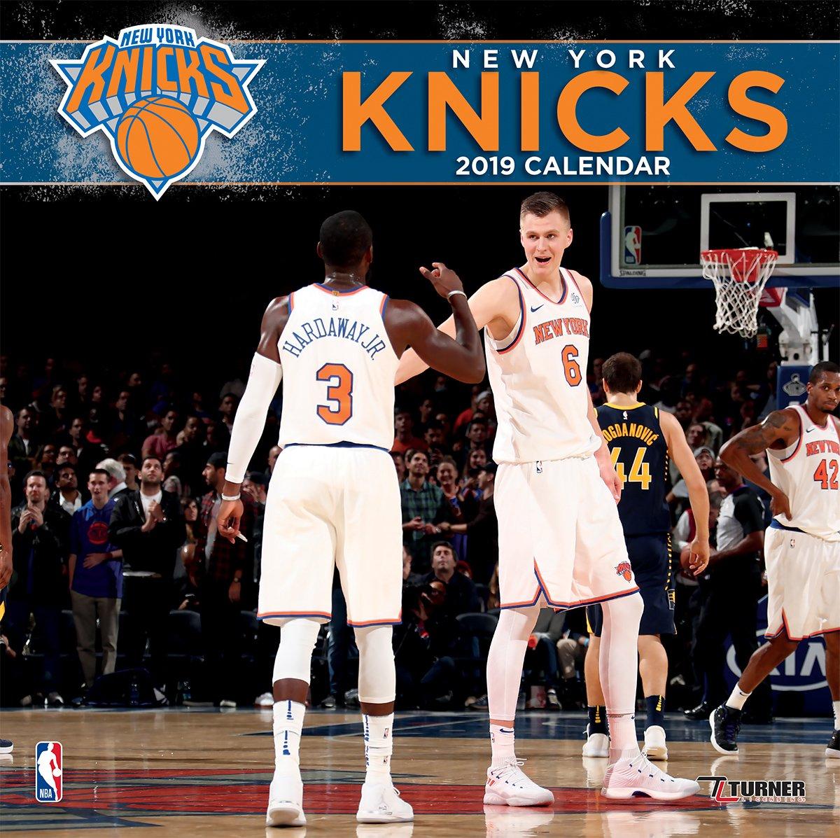 Knicks Calendar 2019 Amazon.com: Turner 1 Sport New York Knicks 2019 12X12 Team Wall