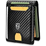 GenTo® Atlanta Billetera de Hombre con Clip para el Dinero - Bloqueador RFID - Billetera para Hombres con protección…