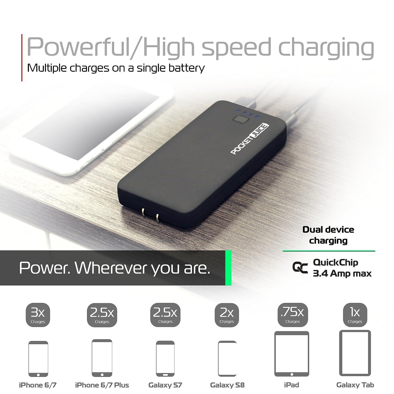 Amazon.com: tzumi PocketJuice AC Mini Portable Chargers ...