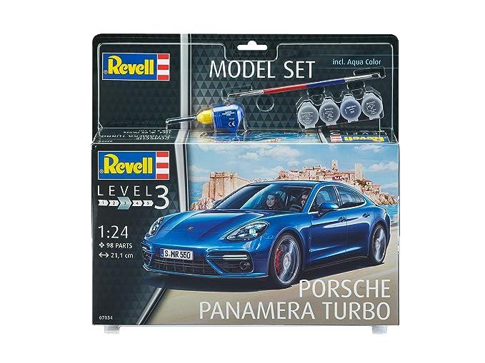 Revell 67034 - Modelo Set Porsche Panamera 2, con pinturas, pegamento y pincel: Amazon.es: Juguetes y juegos