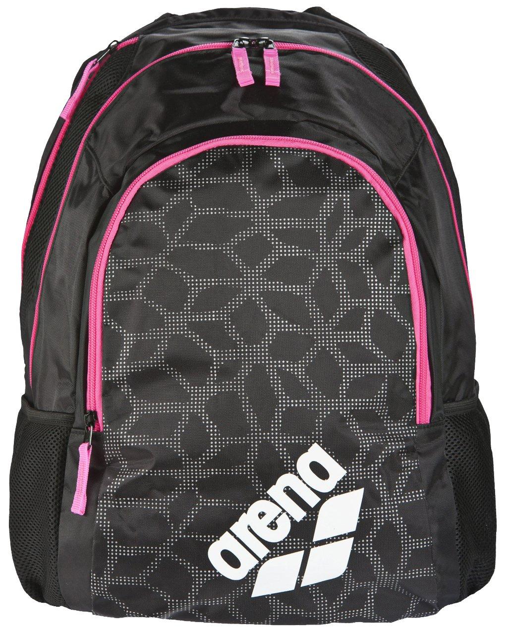 (One Size, Black X/Pivot/Fuchsia) - Arena Spiky 2, Sports Bag Unisex Adult B074PXJZB7