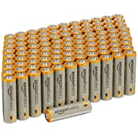 AmazonBasics Paquete de 100 baterías AA