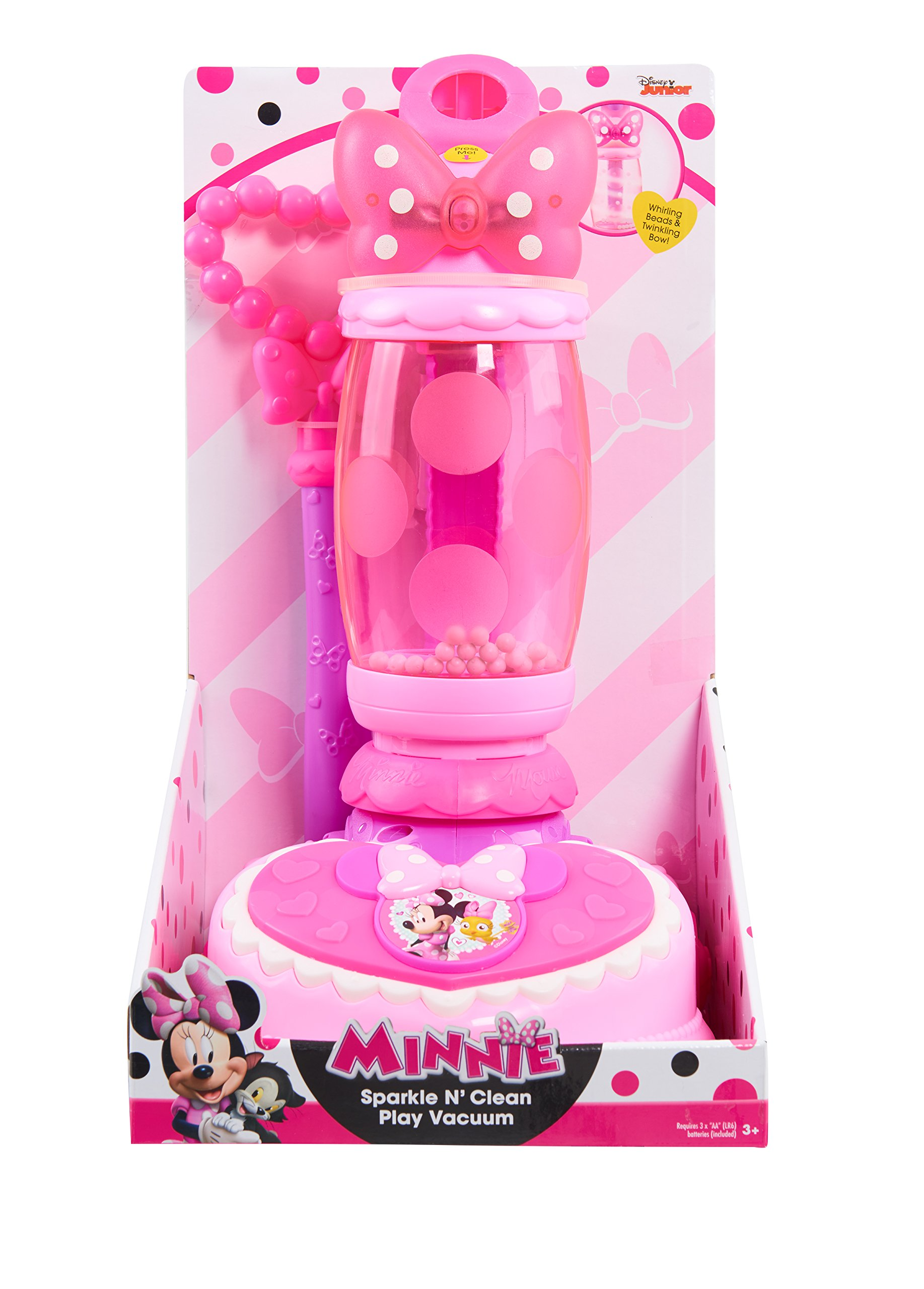 Minnie Happy Helpers Sparkle N' Clean Vacuum, Pink