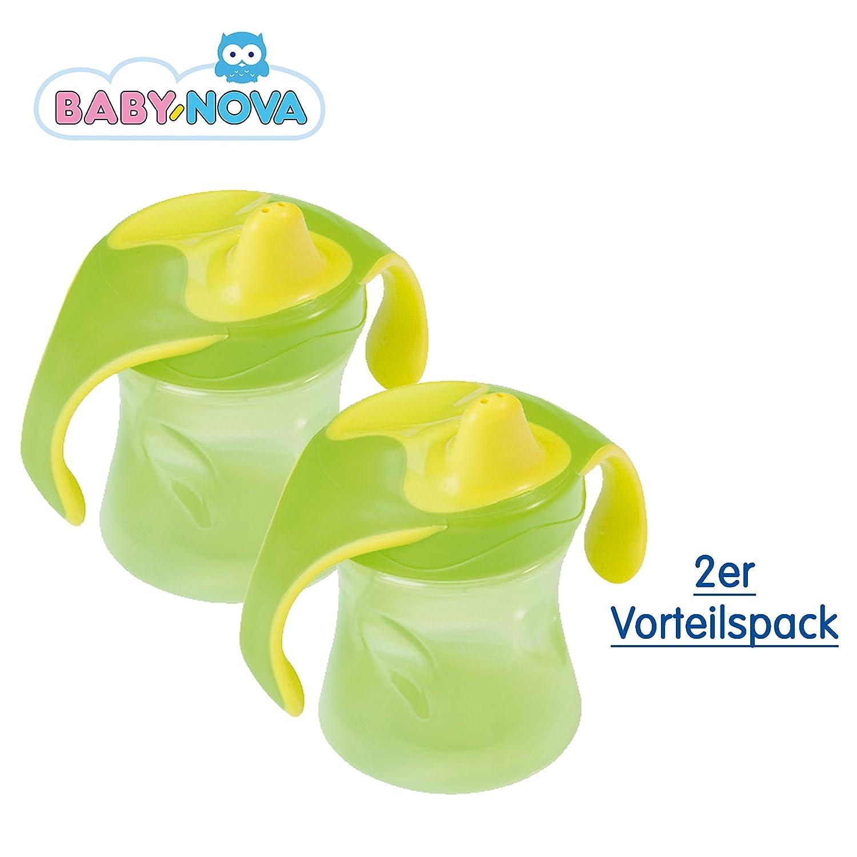 BLAU Baby Nova Trinklernbecher mit Schutzkappe 220 ml