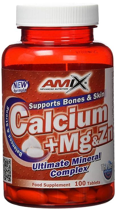Amix Calcio-Magnesio-Zinc 100 tabls