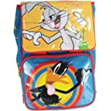Looney Toons Bugs Bunny et Duffy Duck Sàc à Dos pour l'école Scolaire Cartable