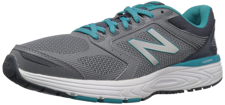 New Balance Women's W560v7 Cushioning Running Shoe B01N7LX704 10 D US|Silver Mink