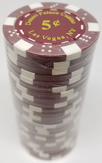 Claysmith Gaming $5000 Clay Composite 10 Gram Milano Poker Chips Sleeve of 25