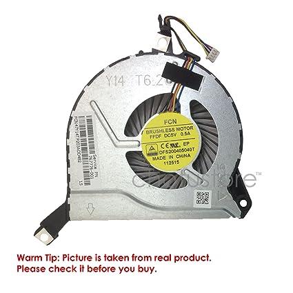 LAPMATE Swiztek Internal CPU Cooling Fan for HP Pavilion 15-P 15P Series