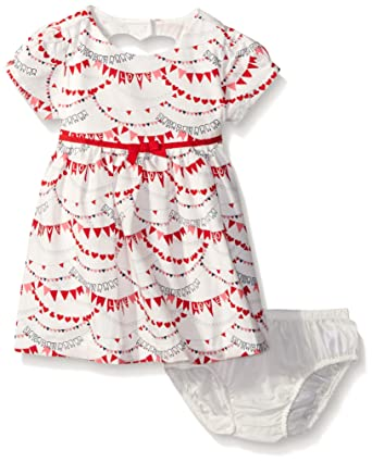 Gymboree Baby Bunting Printed Dress White 0 3 Months Amazon In