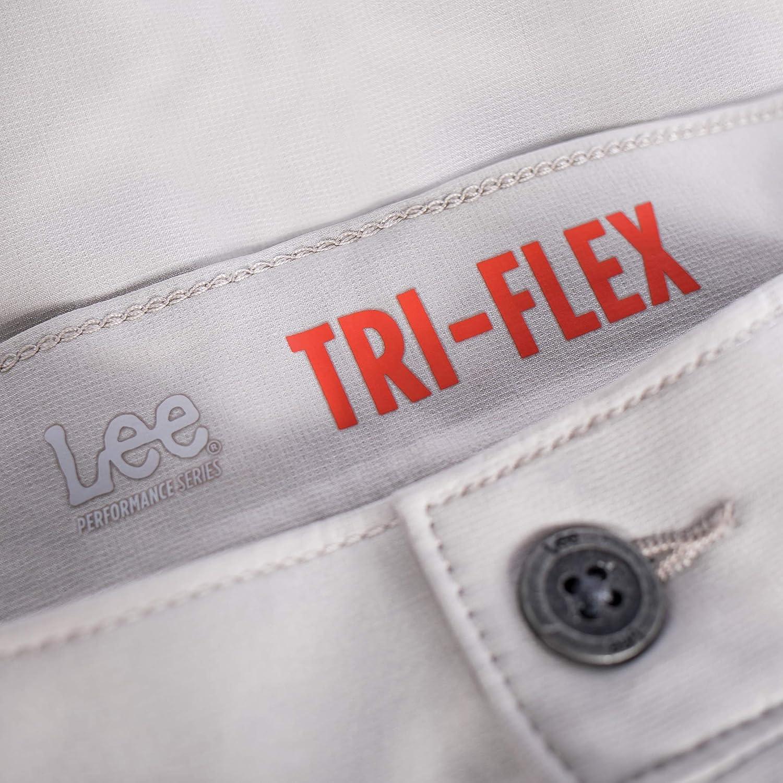 Lee Uniforms Mens Performance Series Tri-Flex Short