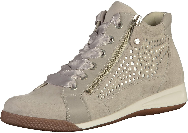 ara 12-34422-08 - Zapatos de Cordones Para Mujer 38 EU gris