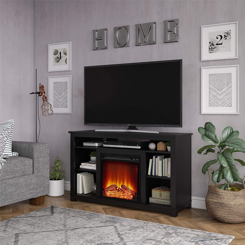 Ameriwood Home Edgewood Fireplace 55