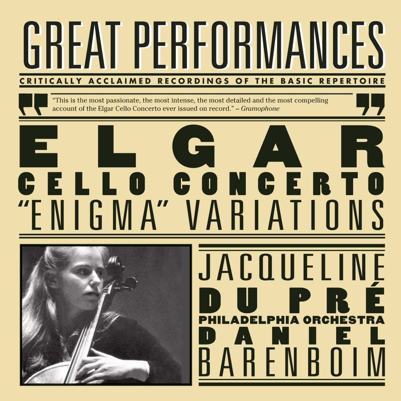 CD : Daniel Barenboim - Cello Cto: Variations - Pomp & Circumstance 1 & 4 (Remastered)