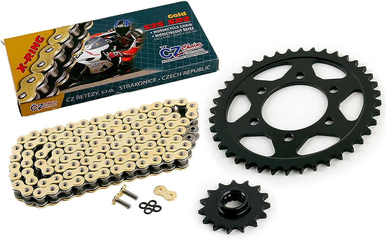 DID X ring Chain and Sprocket kit Kawasaki Ninja 250R 2008-2012 14//45 EX250