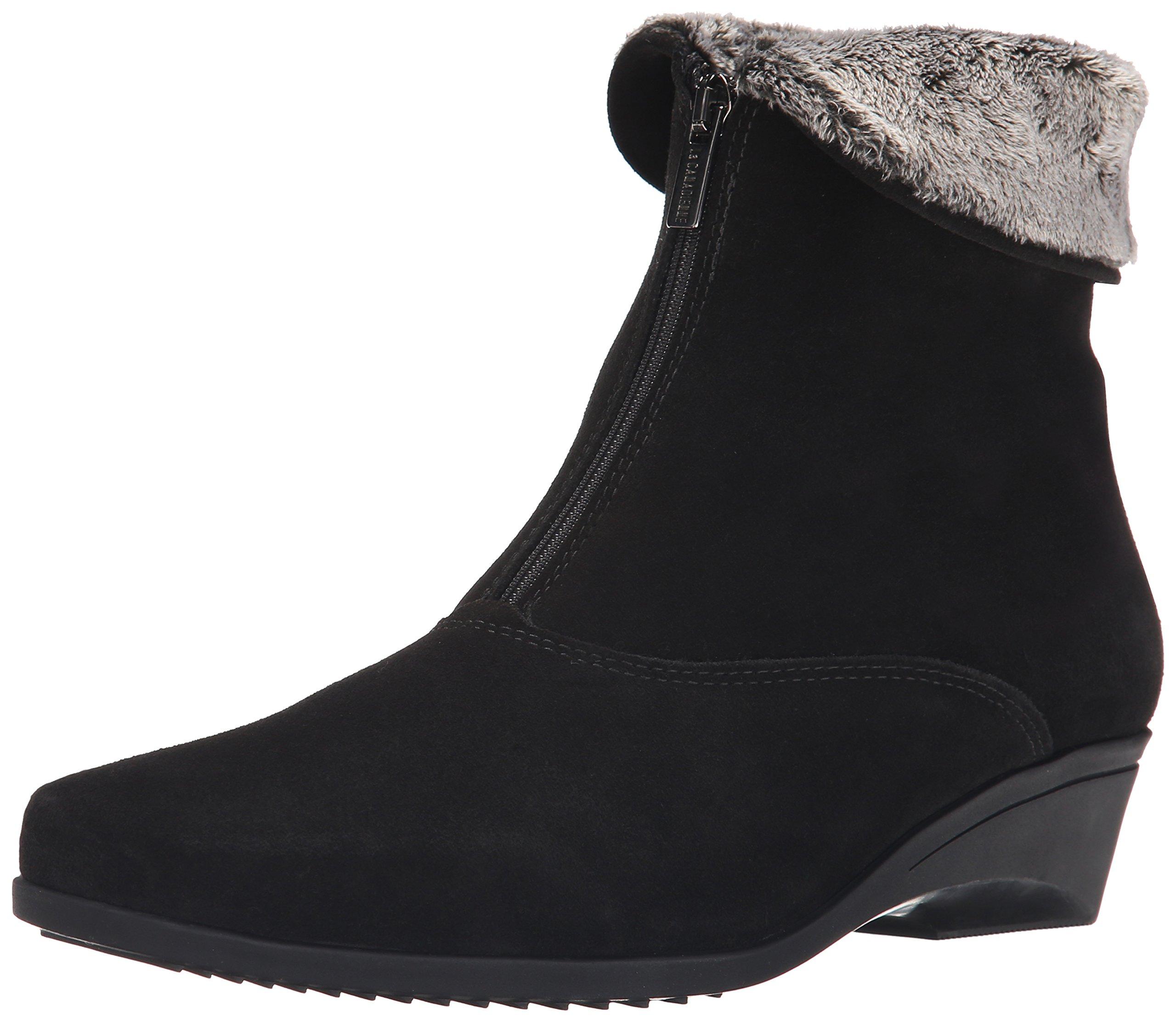 La Canadienne Women's Evitta Boot,Black,7.5 WW
