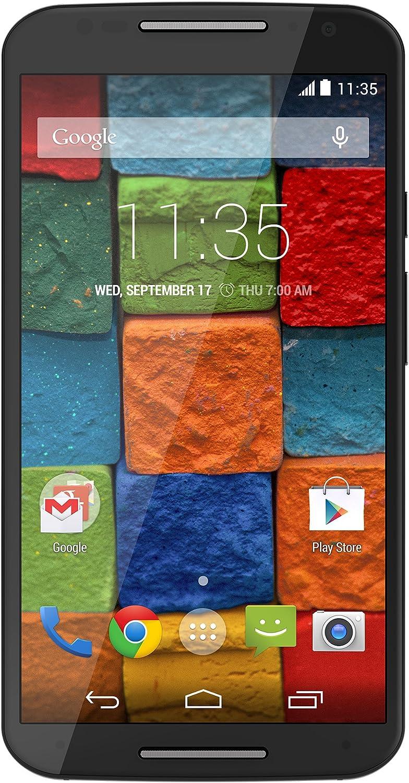Motorola Moto X - 2nd Generation, Black Resin 16GB (Verizon Wireless)