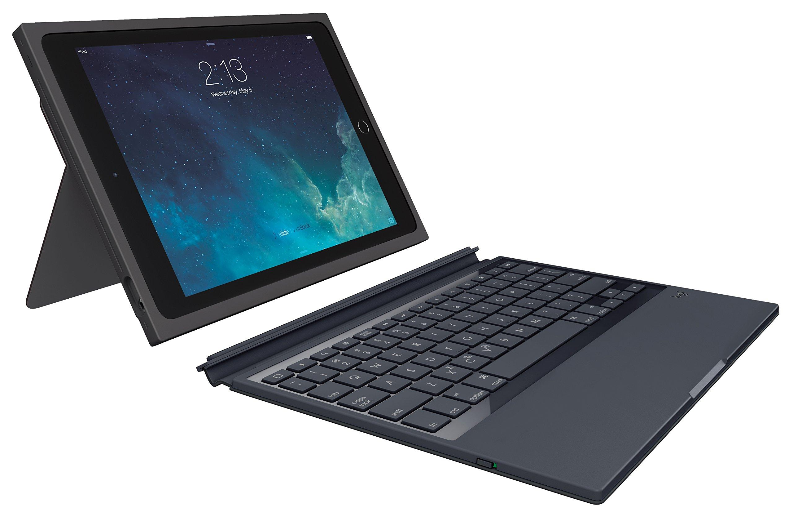 Logitech 920-007417 Blok Protective Keyboard Case for iPad Air 2, Black