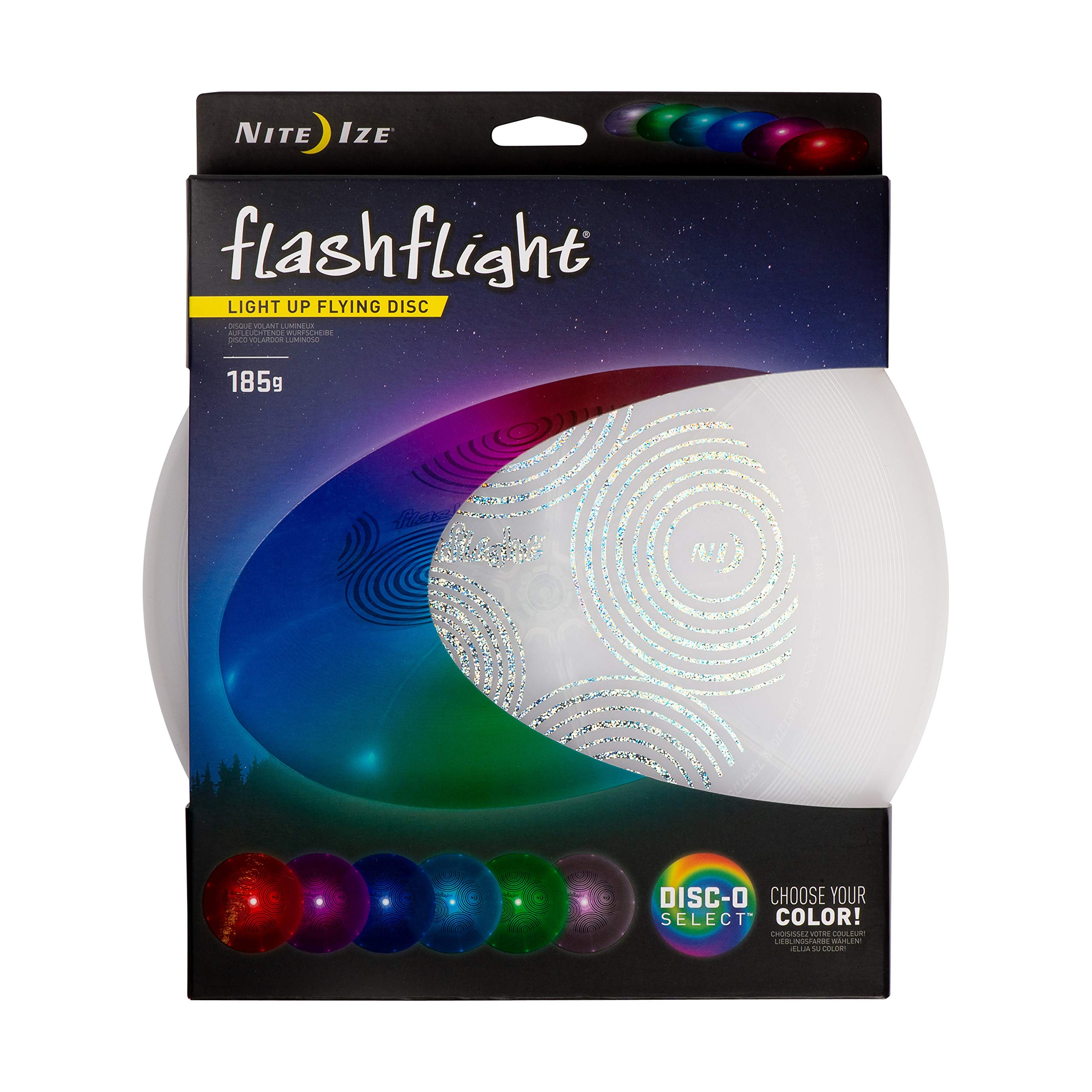 Frisbee LED Luminoso Nite Ize Multicolor 27cm 180 gramos