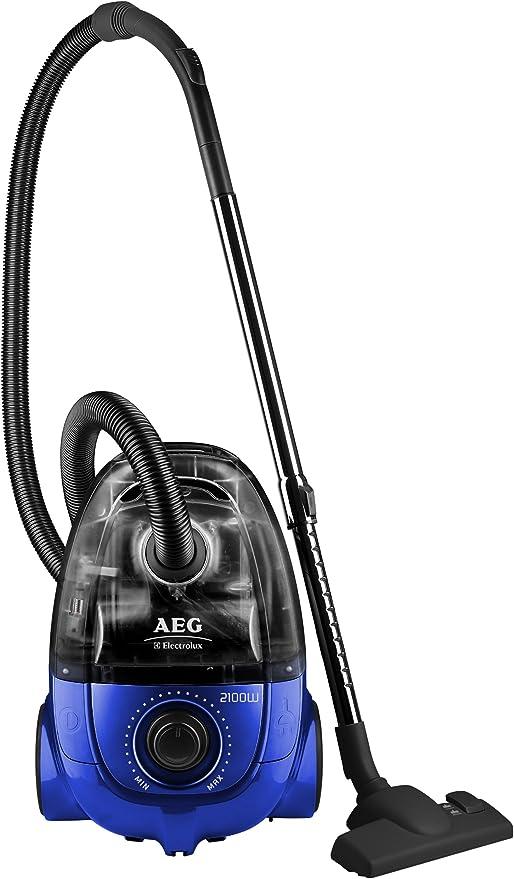 AEG AET 7770 - Aspiradora con bolsa (2100 W, funciona también sin ...