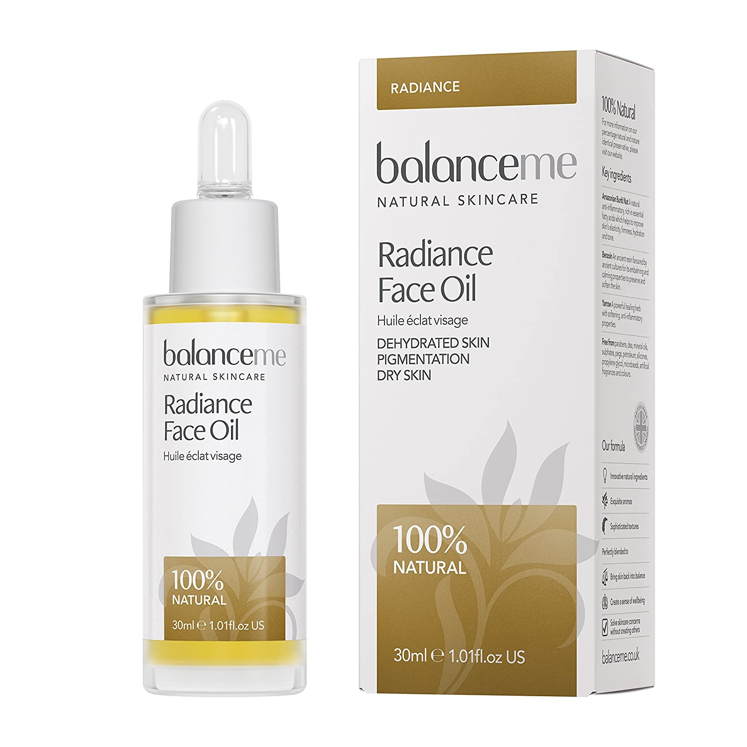 Balance Me Radiance Face Oil 30 ml 1BM19-30