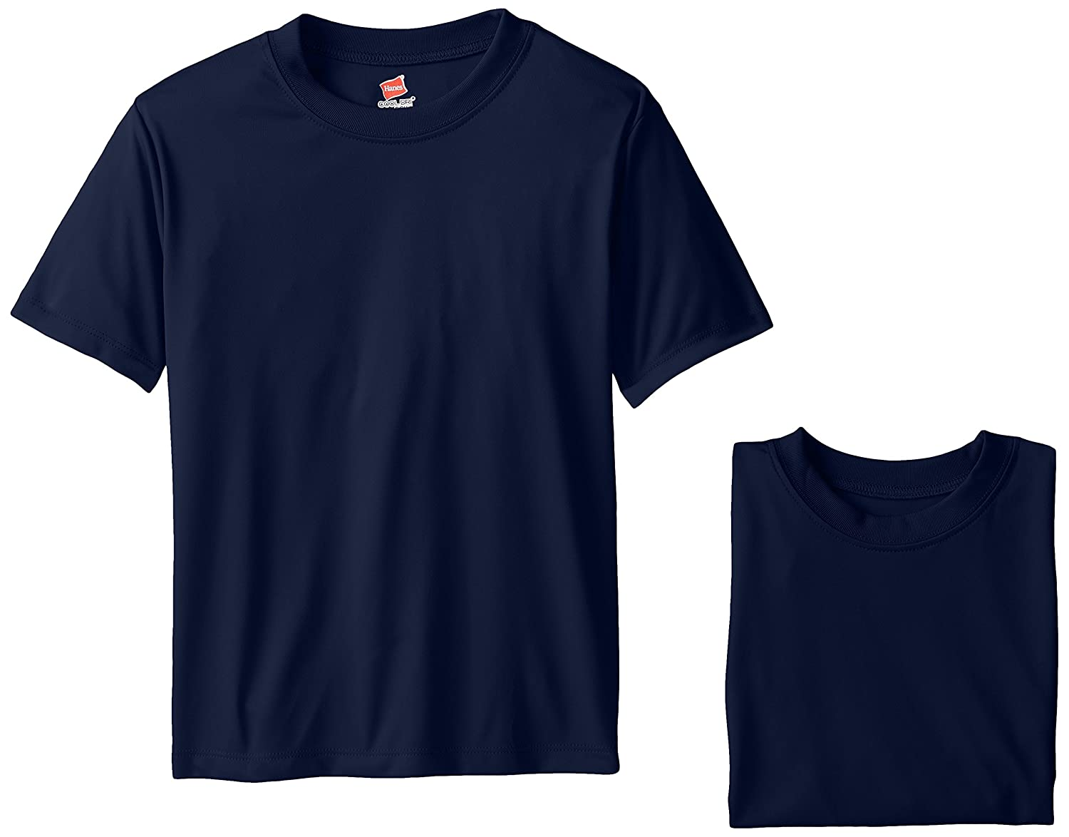 Hanes Big Boys' Cool DRI Performance T-Shirt Pack of 3 Hanes - Boys 8-20 O482Y