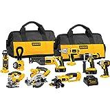 DEWALT DCK955X 18-Volt XRP Cordless 9-Tool Combo Kit