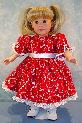18 Inch Doll Clothes Red T Shirt handmade by Jane Ellen to fit 18 inch dolls