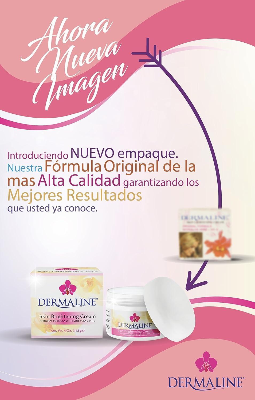 Amazon.com: Dermaline – Crema de brillo de piel con vitamina ...