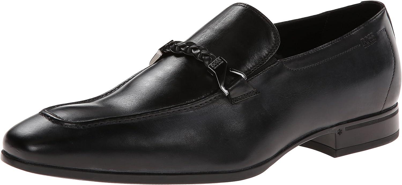 hugo boss black loafers