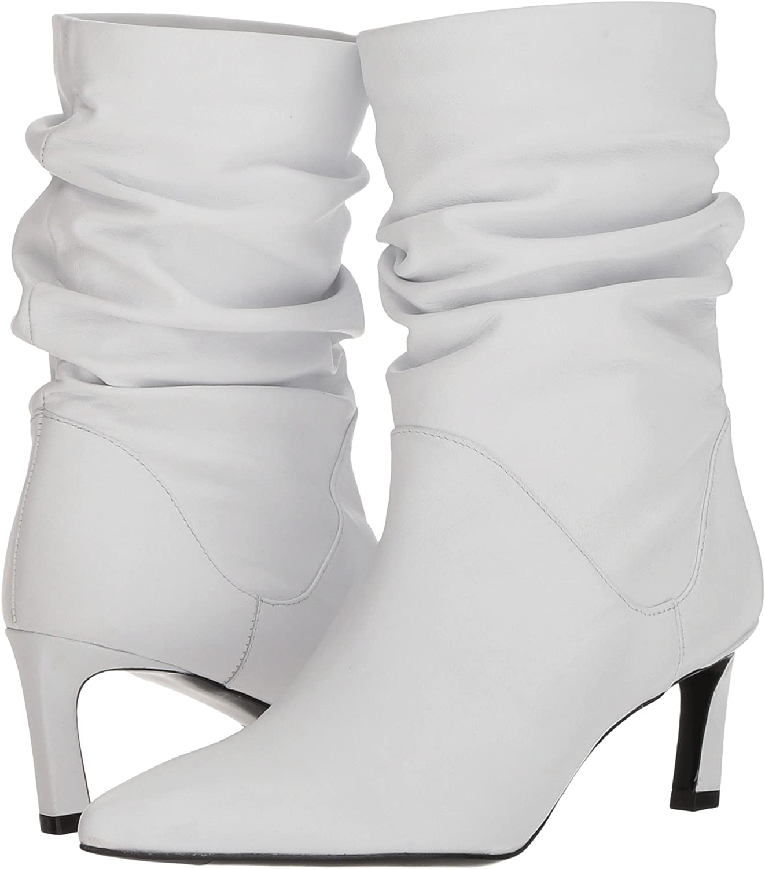 Stuart Weitzman Women's Demibenatar Ankle Boot B005A9WV2Q 12 B(M) US|White Nappa