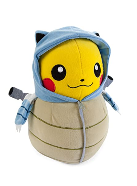 Pokemon Pikachu in Blastoise Sleeping Bag 10 Inch Nebukuro ...