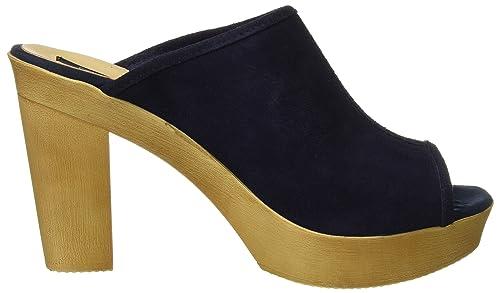 Chaussures Sacs Serraje Sabots Cuplé Femme Zueco Azul et 7waqf0X1n