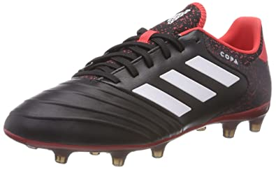 a19f62cc3fc519 adidas Copa 18.2 FG, Chaussures de Football Homme, Noir (Core Black/Footwear