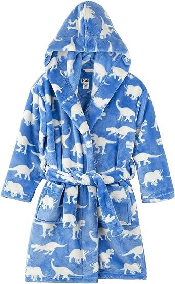 Hatley Boys Fuzzy Fleece Robe Dressing Gown