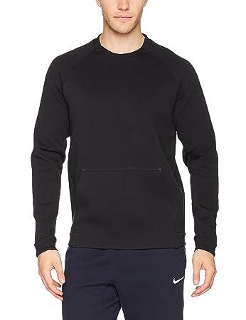d005f53075 Nike M NSW TCH FLC CRW LS - Long-sleeved - T-shirt for