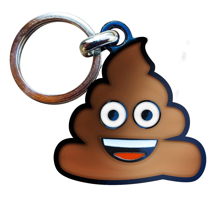 Llavero Metálico emoji Poo: Amazon.es: Hogar