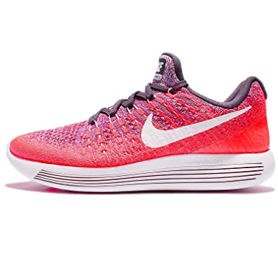 competitive price 98574 0af06 Amazon.com   Nike Women s WMNS Lunarepic Low Flyknit 2, Dark Raisin White- Purple Earth, 5 M US   Road Running