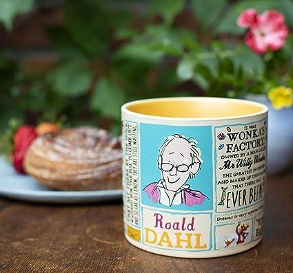 Roald Dahl - Taza de café, diseño de personajes famosos y citas ...