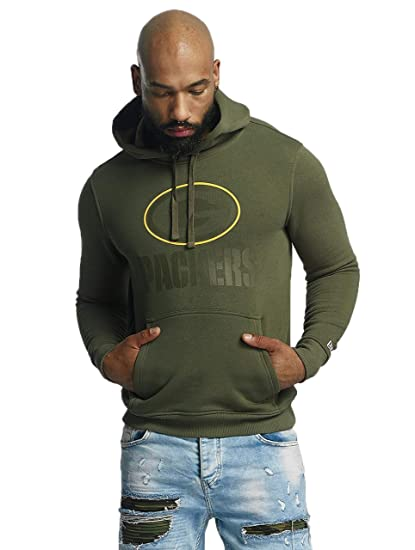 online retailer ac1a2 42111 New Era Men Overwear/Hoodie NFL Camo Green Bay Packers Olive ...