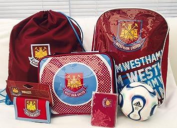 WEST HAM FC SET de regalo 7 piezas mochila 8663957514e63
