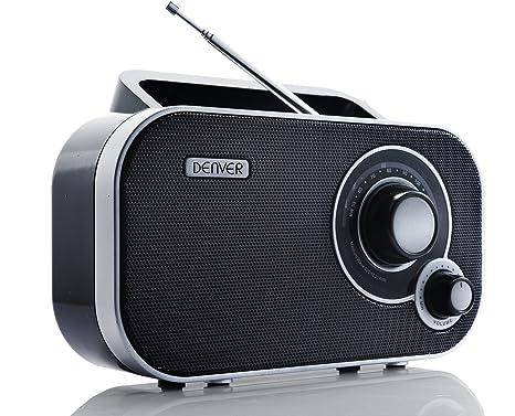 Af modish Denver TR-54 MK2 AM/FM Radio - Black: Amazon.co.uk: TV OC35