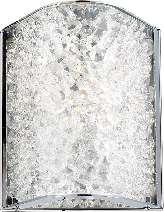 Elk Lighting 31180 1 Encased Crystals One Light Bath Bar Polished Chrome Amazon Ca Tools Home Improvement
