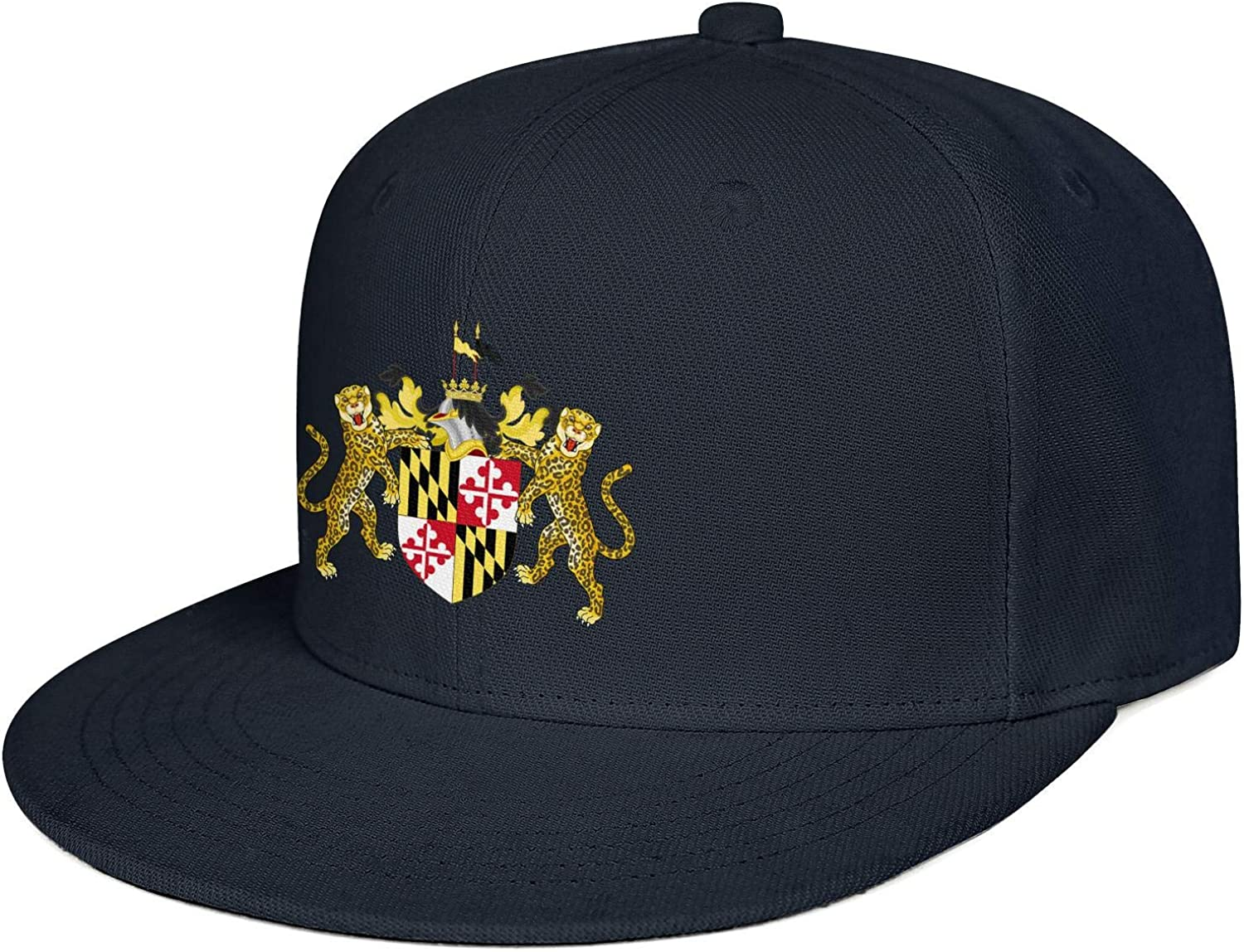 dtykm Brewers Association Maryland Logo Baseball Caps Cute Snapback Hats Mens Adjustable Snapback Flat Brim Hats for Women