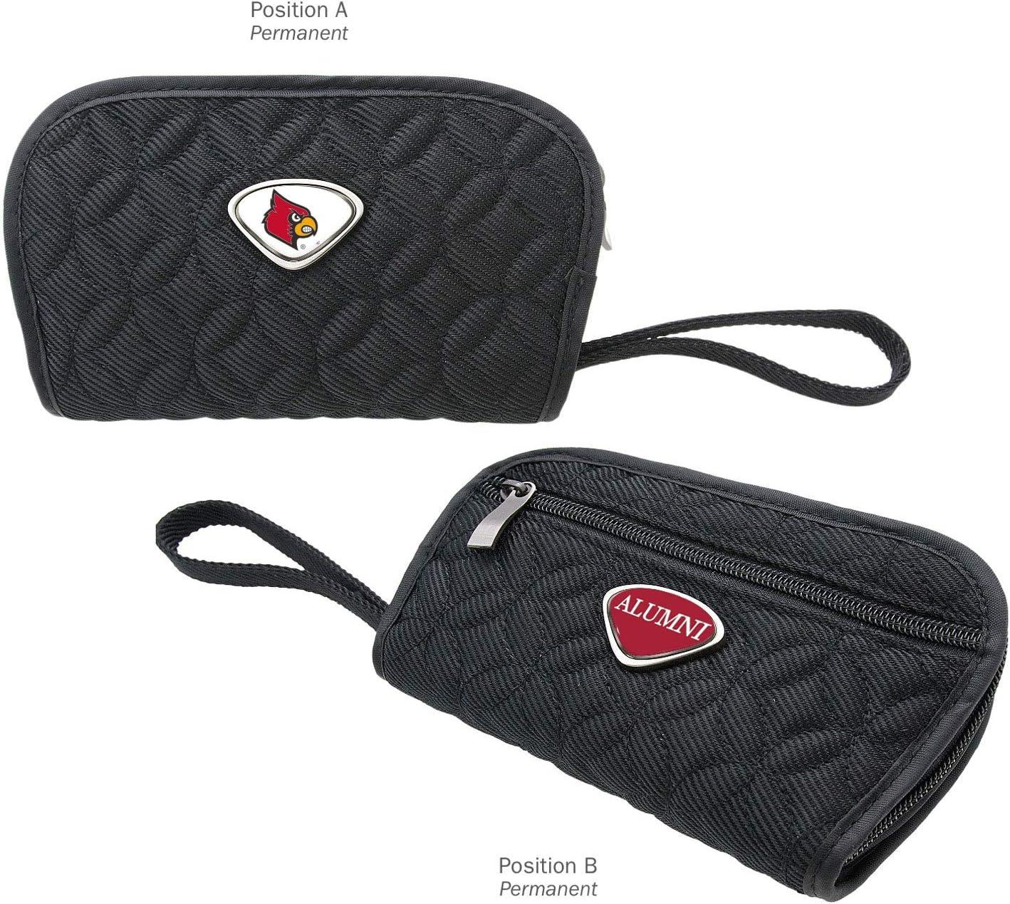 AdSpec NCAA Louisville Cardinals Collegiate Womens Travel WalletCollegiate Womens Travel Wallet Black One Size