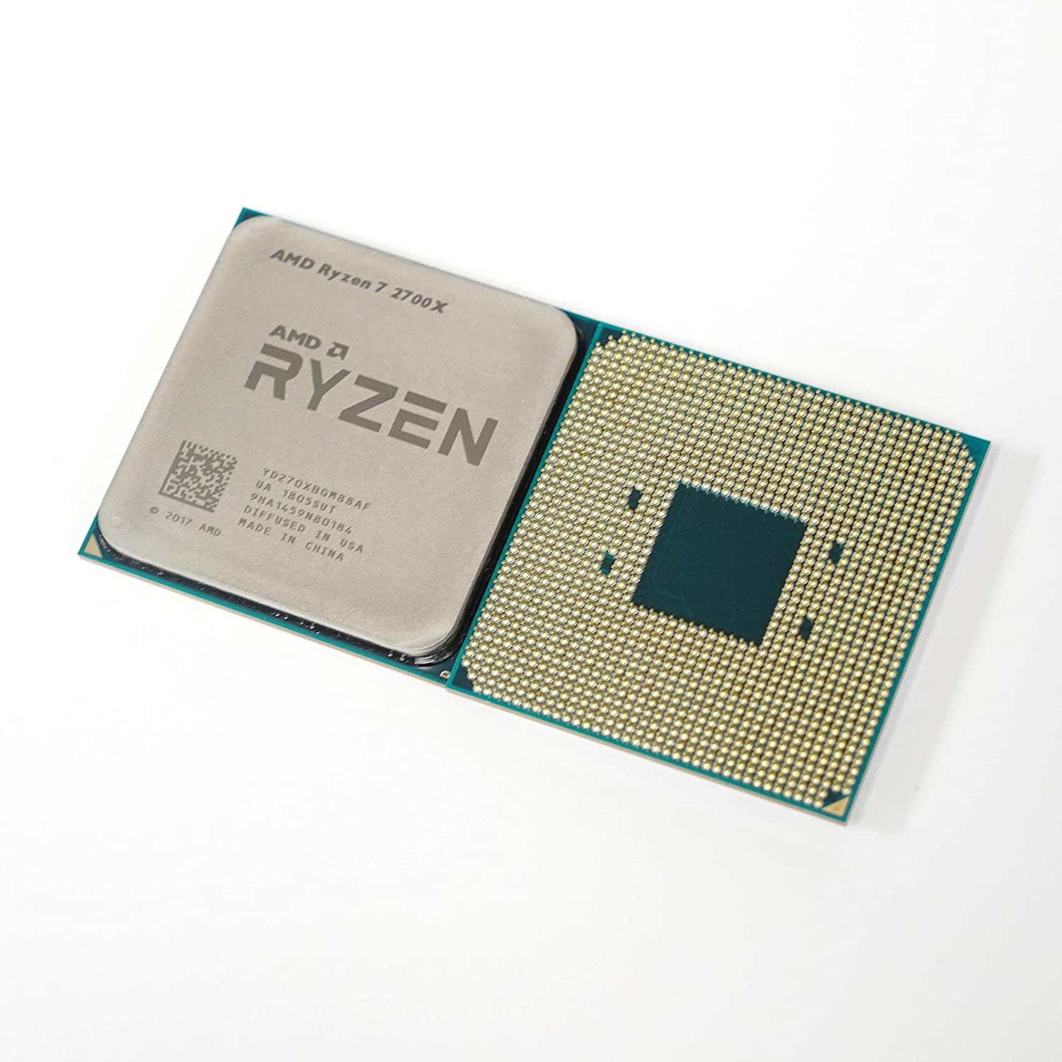 AMD Ryzen 2nd Gen 7 2700X - 4.3 GHz Eight Core (YD270XBGM88AF) Processor OEM VER with Thermal Paste Bundle