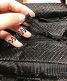 Good, wide straps, zipper pull fell apart, weak seams on my bag