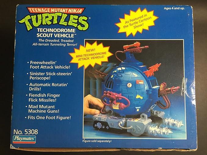 TMNT Teenage Mutant Ninja Turtles Technodrome Scout Vehicle